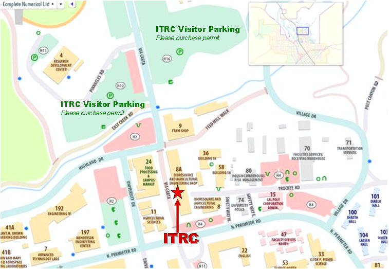 Cal Poly - ITRC - Map Cal Poly Maps on
