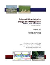 Drip and Micro Irrigation for Trees, Vines and Row Crops